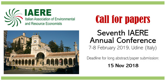 Seventh IAERE Annual Conference - Call for papers